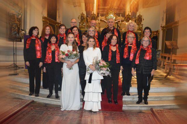 Le Choeur Azurus lors de son concert de Noël