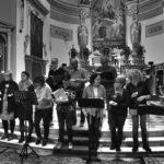 Séance de répétition du Choeur Azurus pour son concert de Noël 2018