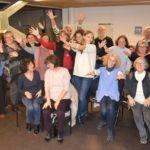 Le choeur azurus en fin de séance MPVB - Mouvement Posture Voix Bien-être - avec Marie-Pierre Vals-Busso